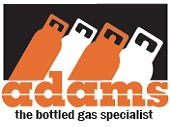 Adams Gas bottled gas available at Sharman Caravans Ltd