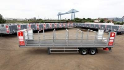 88 New Cylinder Trailers from Cartwright