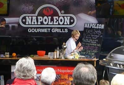 Grill Skills Theatre on the road
